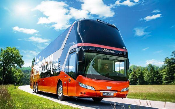 Autobusem snídaně v ceně  Od 3. 6. (Čt) do 6. 6. 2021 (Ne)2