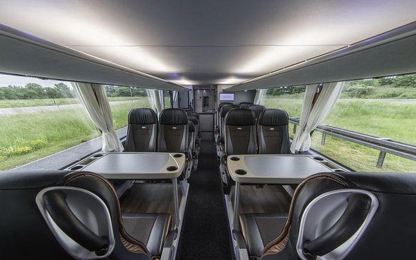 Autobusem snídaně v ceně  Od 3. 6. (Čt) do 6. 6. 2021 (Ne)3