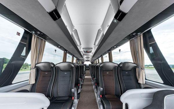 Autobusem snídaně v ceně  Od 26. 8. (Čt) do 30. 8. 2021 (Po)5