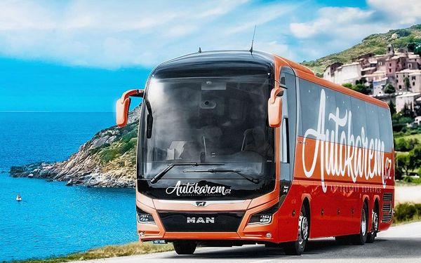 Autobusem snídaně v ceně  Od 3. 6. (Čt) do 6. 6. 2021 (Ne)5