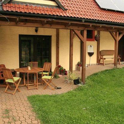 České středohoří: Taneček - malý apartmán u rodinného domu