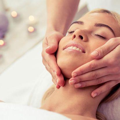 Detoxikační a liftingová masáž obličeje pro ženy