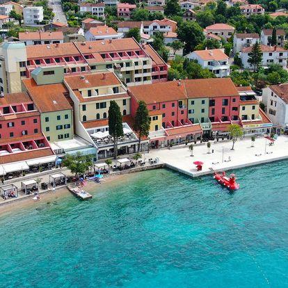 Chorvatsko - Krk na 5-6 dnů, polopenze