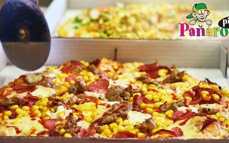 Dvě Paňárovy pizzy s rozvozem: výběr z 15 druhů