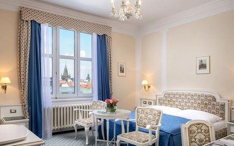 Dokonalé pohodlí luxusního hotelu Ambassador Zlatá Husa***** v Praze