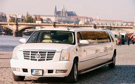 Pronájem limuzíny Cadillac Escalade na 1 nebo 2 hodiny od Cadillaclimo