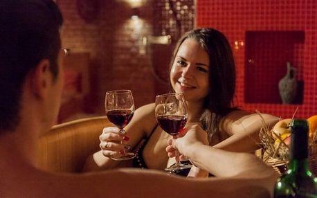 Osvěžující a relaxační vinná koupel s masáží v Pivních a vinných lázních v Praze