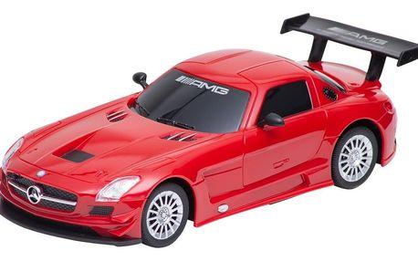 Buddy Toys BRC 24.061 Auto na dálkové ovládání Mercedes-Benz SLS, červená