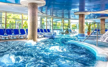 Termály a TOP wellness v Hotelu Visegrad Superior****