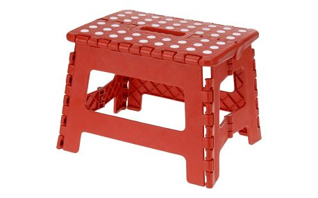 Skládací stolička červená, 29 x 22 cm