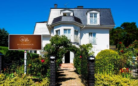 Polsko, Baltské moře: Willa Alexander Resort & SPA