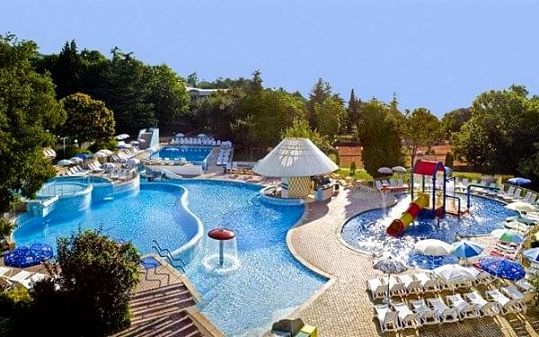 Hotel Orchidea Resort, Albena, Bulharsko, Albena, letecky, all inclusive5