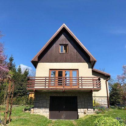 Středočeský kraj: Chata se zahradou