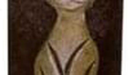 Dekorativní svíčka Kočka hnědá, 22 cm
