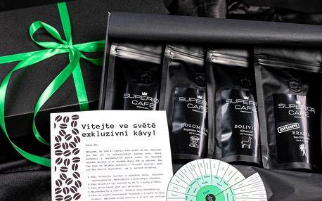 Degustační balíčky kávy z Brazílie, Kuby i Keni
