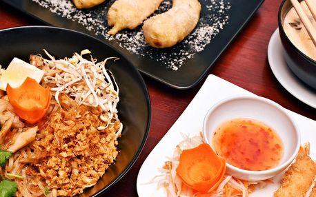 Asijské menu: Přehlídka exotiky ve 4 chodech