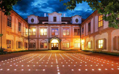 Pobyt na zámku: skvělé jídlo, bazén i labyrint