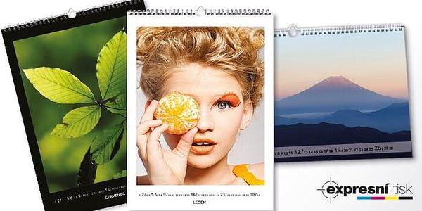 Nástěnný měsíční fotokalendář A34