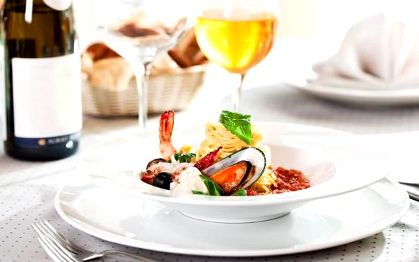 Pravá Itálie – 5chodové degustační menu