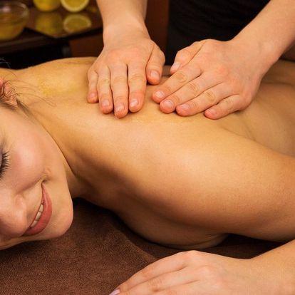 60minutová masáž dle vlastního výběru ze 3 druhů