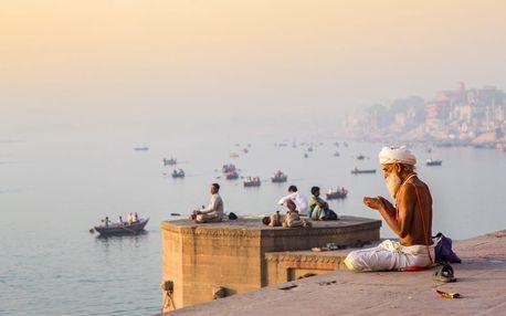 Indie letecky na 11 dnů, strava dle programu