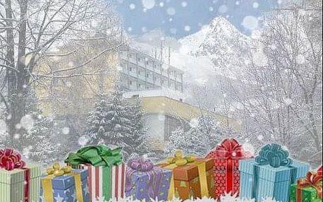 Kouzlo Vánoc pod Lomnickým štítem v hotelu Sorea Uran s bazénem a polopenzí