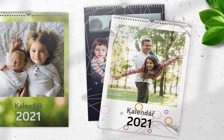Fotokalendáře na zeď ve formátu A4, A3 nebo Maxi