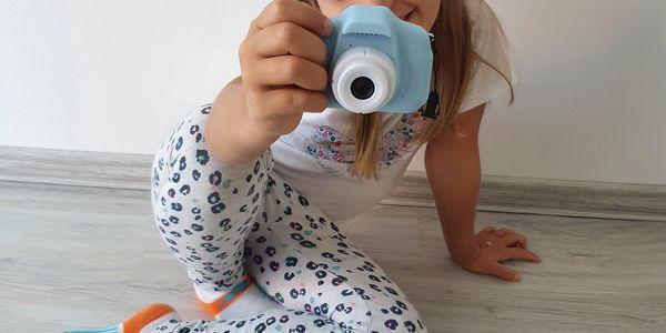 Dětský fotoaparát - zelený4