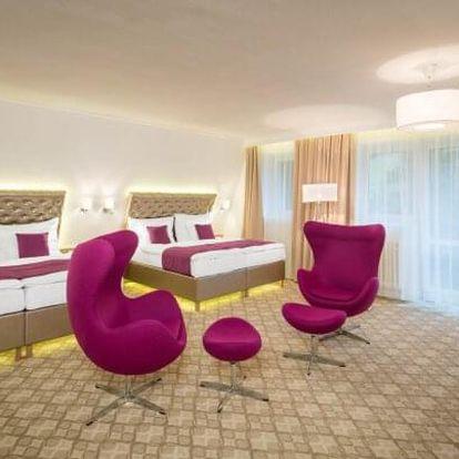 Krkonoše pro rodiny: Pytloun Hotel Harrachov **** s wellness, masáží a polopenzí + děti do 17 let zdarma