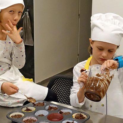 Kurzy pečení a vaření pro jedno i dvě děti
