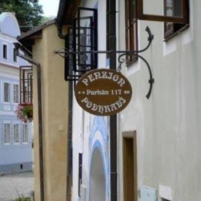 Český Krumlov: Penzion Podhradí