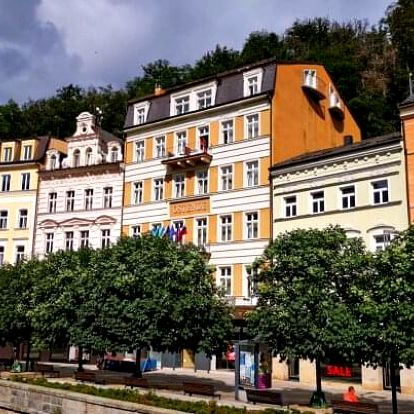 Karlovy Vary blízko kolonád i památek v Hotelu Ostende **** s procedurami a bohatou polopenzí