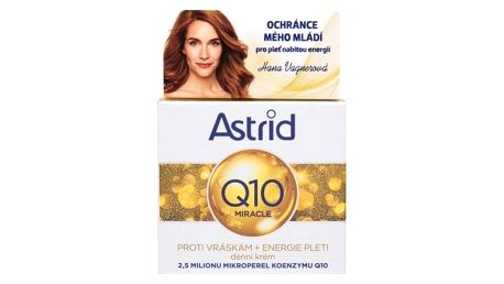 Astrid Q10 Miracle 50 ml krém proti vráskám pro ženy