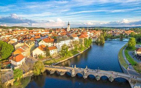 Jižní Čechy: Písek v Hotelu City *** se snídaní, vínem, poukázkou do Caffe baru a překvapením + dítě zdarma