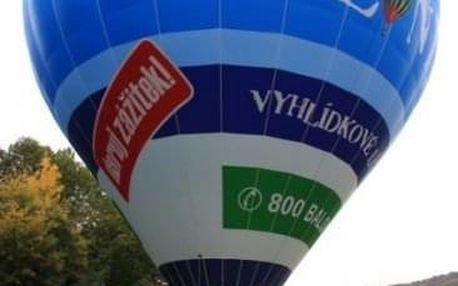 Let balónem Pálava