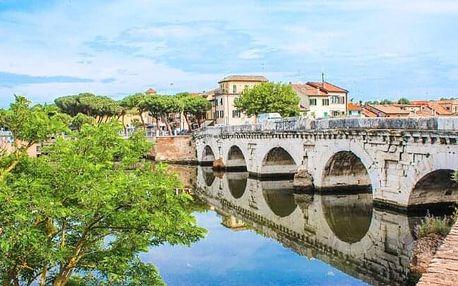Itálie v klidné části historického Rimini jen 60 m od moře: Hotel Playa *** se snídaní a vyžitím + dítě zdarma