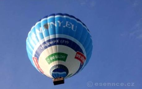 Let balónem Český ráj