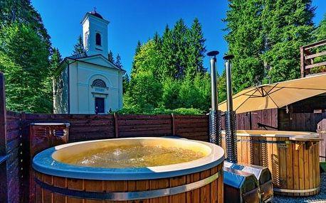 Jeseníky přímo v centru Karlovy Studánky: Hotel Džbán *** s Thermal Parkem, pivní koupelí a polopenzí