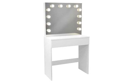 Toaletní kosmetický stolek Gabina 80x40x140cm se zrcadlem