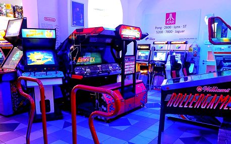 Vstup do interaktivního muzea her