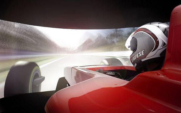 Závody Formule 1 - dva simulátory4