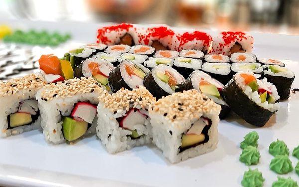 Pochutnejte si v centru Brna: 3 sushi sety