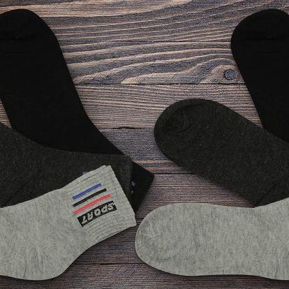 12 párů pánských ponožek bamboo