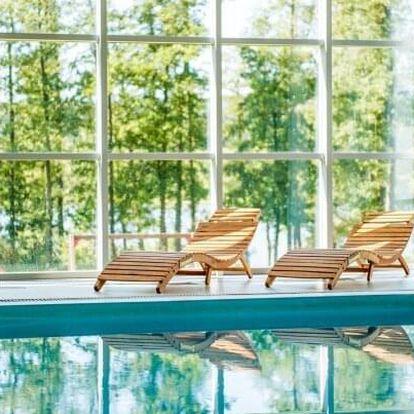 Dovolená přímo u Lipna: Resort Orsino s neomezeným wellness s bazénem a saunou, outdoorovou hrou a polopenzí