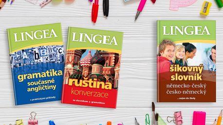 Balíčky pro studium angličtiny, němčiny či ruštiny