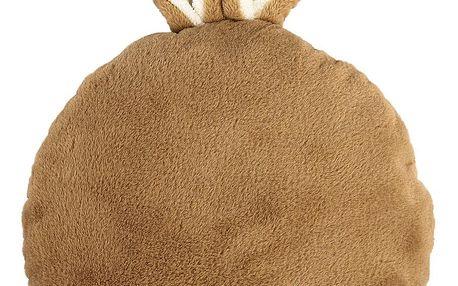 BO-MA Trading Polštářek králíček Sunny Life hnědá