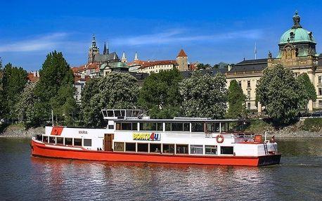 Hodinová adventní plavba Prahou po Vltavě s cukrovím i koledami od River Trip