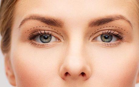 Omlazení očního okolí a pozvednutí horních víček