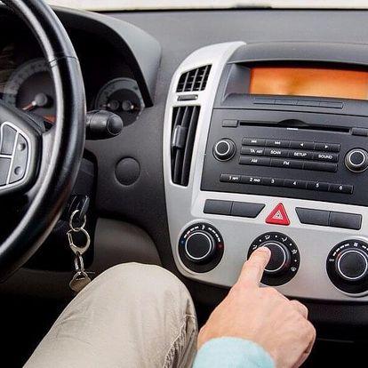 Desinfekce interiéru a ventilačních cest vozu