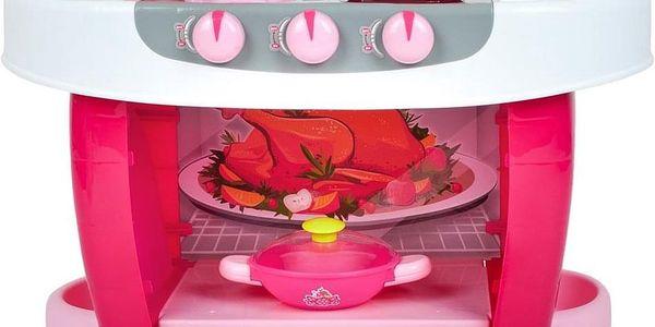 Bayo Velká kuchyňka s dotykovým sensorem + příslušenství Růžová2